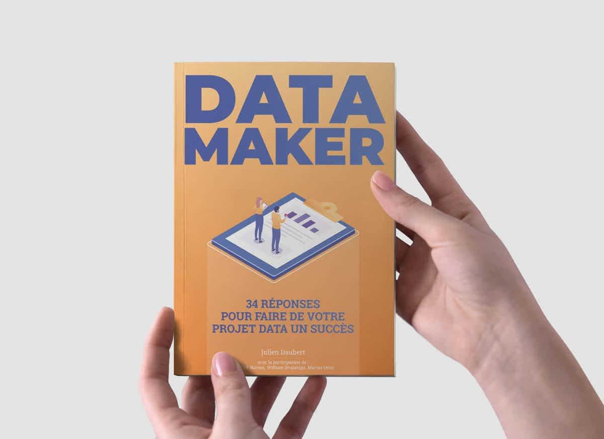 Webinar avec Julien Daubert sur le livre Data Maker. 13